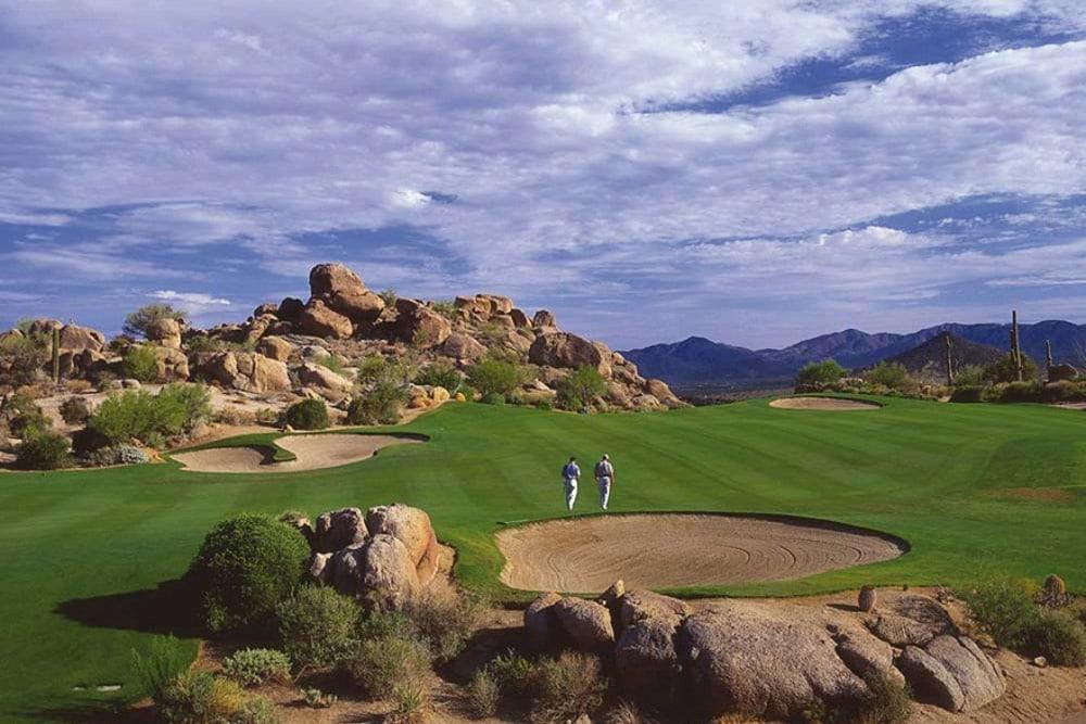 Troon Golfing