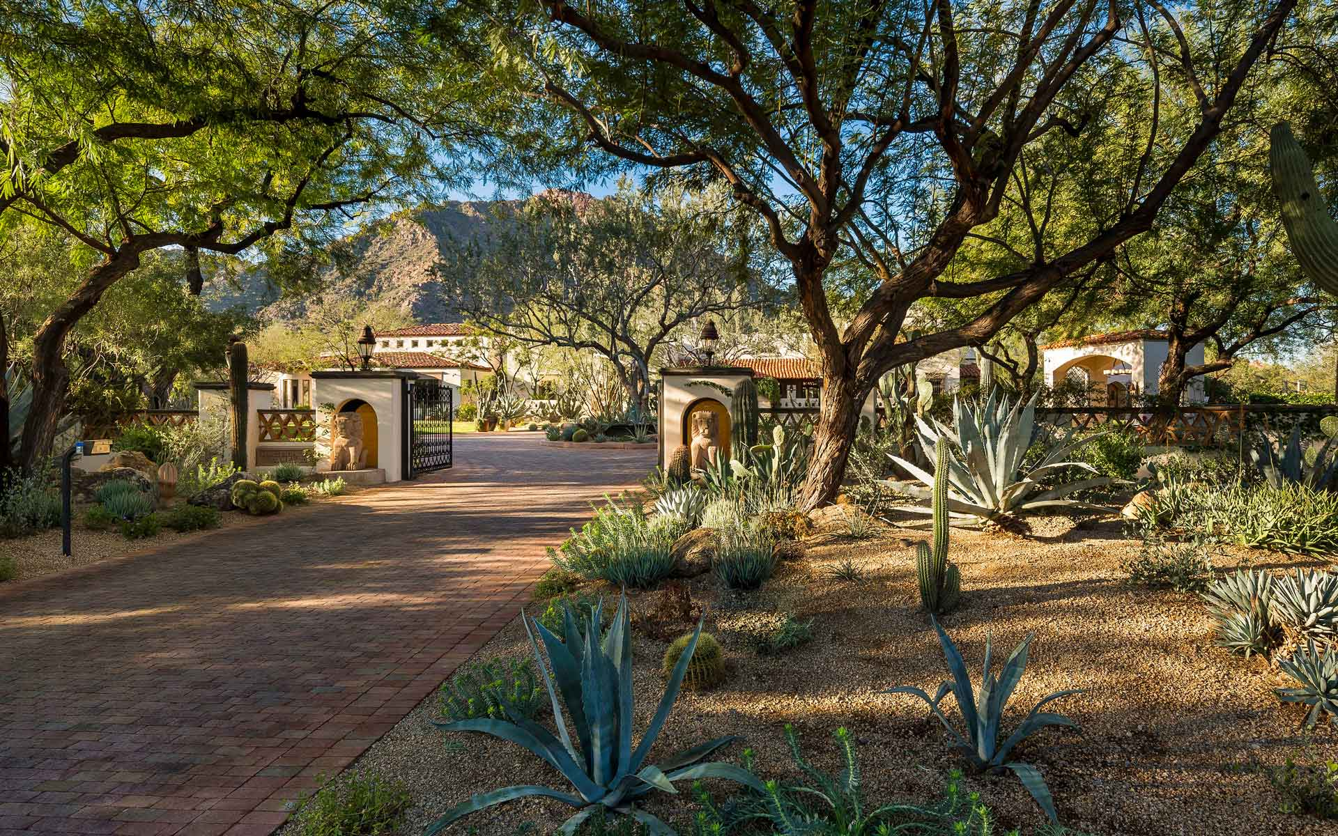Romantic Spanish Colonial 2.5 Acre Estate Paradise Valley