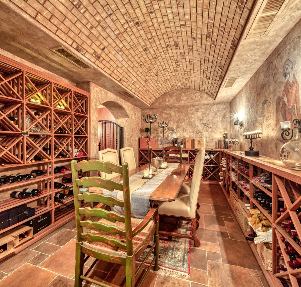 Private Wine Cellar with Tasting Room